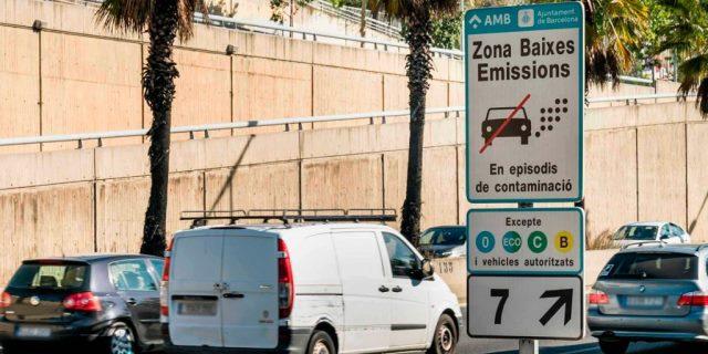 ZBE: Barcelona establece una Zona de Bajas Emisiones de 95 km2