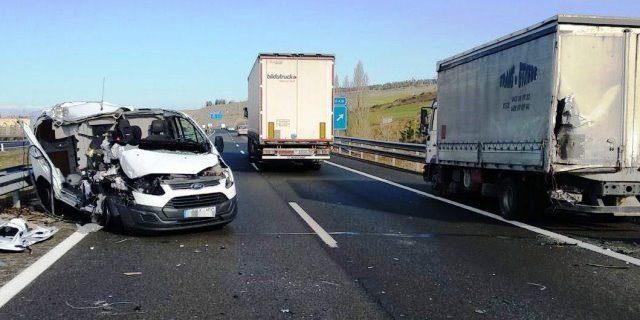 La DGT pone el foco en la siniestralidad de las furgonetas