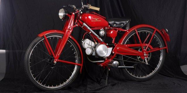 Guzzi 65, una moto Nº1 en ventas que hizo historia