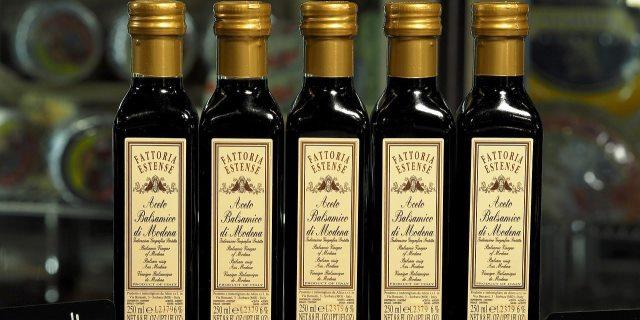 Botellas de Vinagre