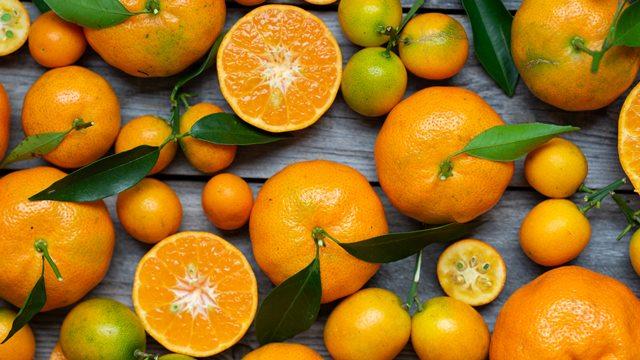 Naranjas como alimento real food