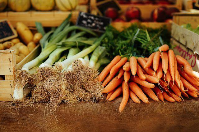Vegetales para distintos platos