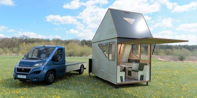 Haaks Camper presenta una caravana modular de 30 m2