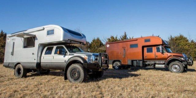 UXV-MAX RV, una autocaravana todoterreno con 300 CV