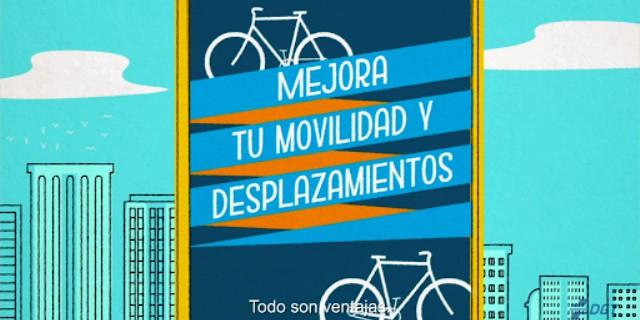 uso de bicicleta en desplazamientos urbanos
