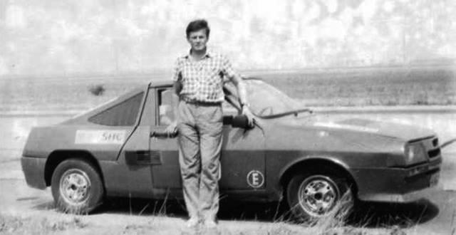 Nilokai Cosmescu desarrolló el primer y único modelo de Dacia con motor central