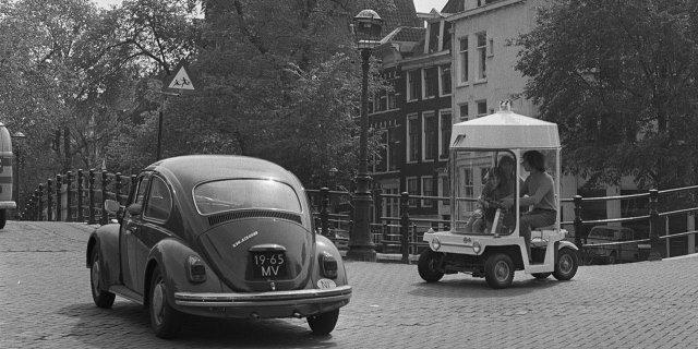 Witkarplan, el carsharing de Amsterdam que nació en los sesenta