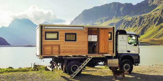 """La alemana Bumo ofrece el primer """"campertruck"""" sostenible"""