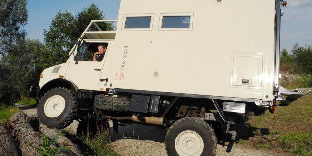 Bliss Mobil: Un camper compacto con mucha tecnología