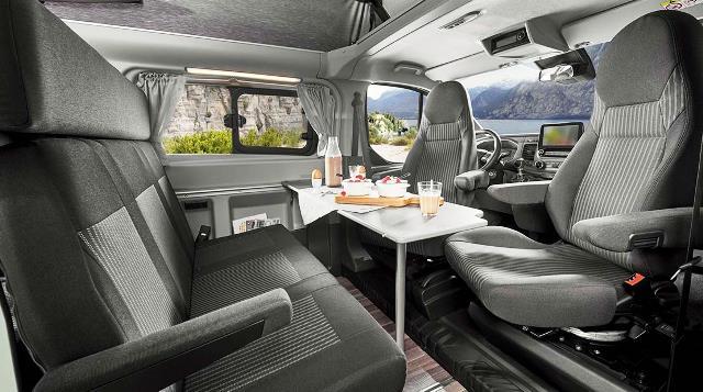 interior transit custom nugget