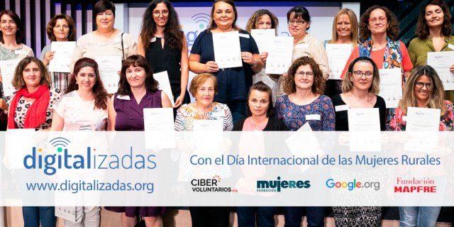 Digitalizadas Fundación MAPFRE para mujeres de entornos rurales
