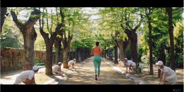 Garbiñe Muguruza, protagonista de la nueva campaña de Caser Seguros