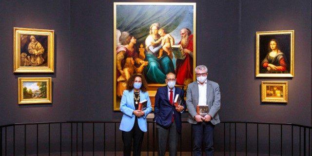 Inauguración en el Museo Nacional del Prado de la exposición temporal Invitadas con el apoyo de Fundación AXA