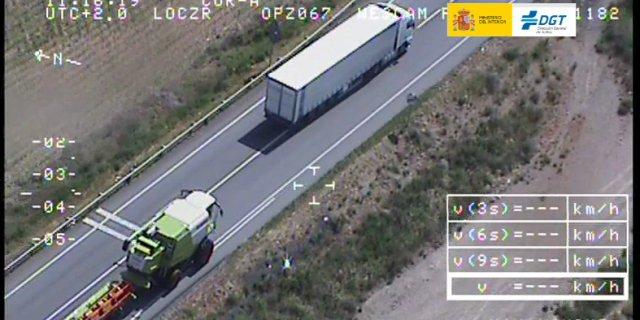 vigilancia de camiones y autobuses