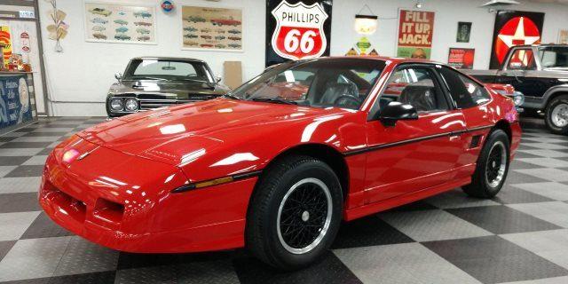 Pontiac Fiero GT fabricado en Michigan