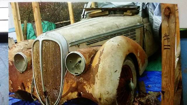 Delahaye 135M Cabriolet coche