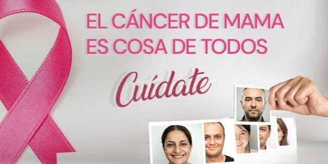 Súmate al rosa contra el cáncer de mama