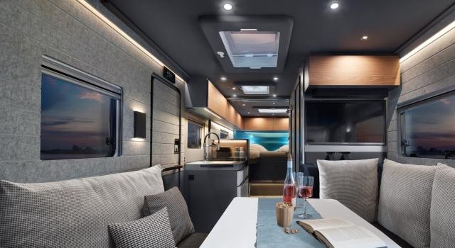 interior autocaravana iSmove