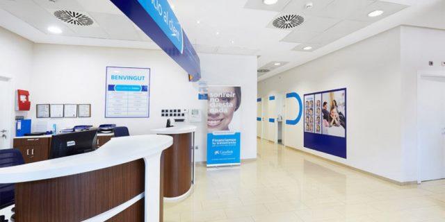 uno de los centros de la red de clinicas de Adeslas