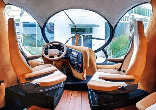 volante y asientos de la EleMMent Palazzo