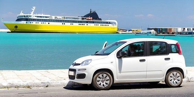 vehículo de alquiler para vacaciones