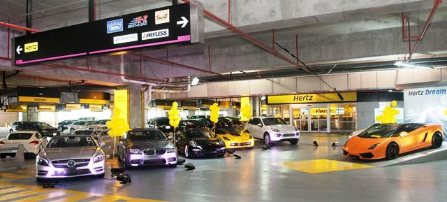 coches de alquiler en aeropuerto para hombres de negocios