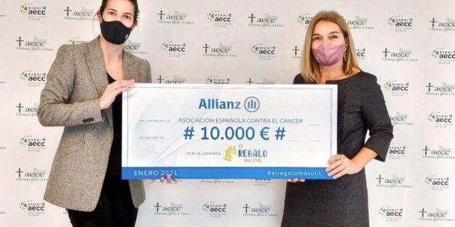 Allianz dona a Asociación Española contra el Cáncer
