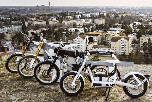 motos eléctricas Cake