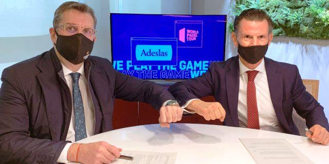 Adeslas apoya pádel con patrocinio a la WPT