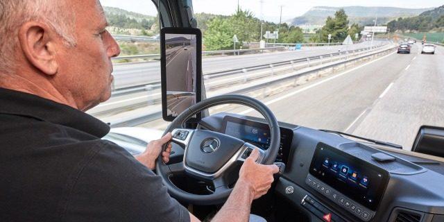 conductor profesional con exceso de horas de conducción