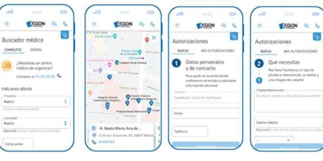 área de clientes de Aegon centrada en la experiencia de usuario