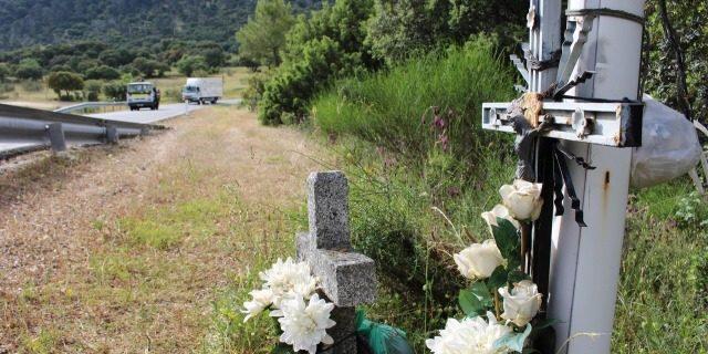 memoriales en carretera