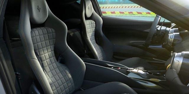 interior Ferrari 812 Superfast