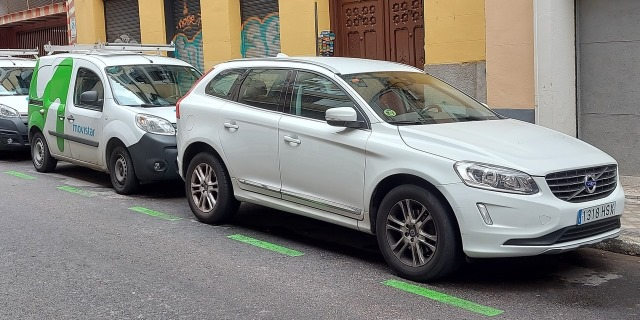 coches en zona SER