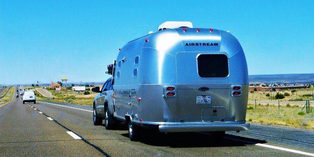 viajar en caravana en verano es muy popular