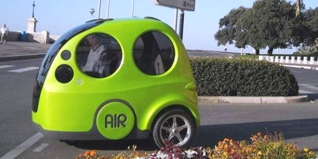 air car o coche propulsado por aire