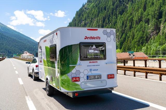 Prototipo caravana eléctrica