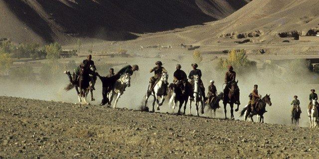 Buzkashi deporte afgano