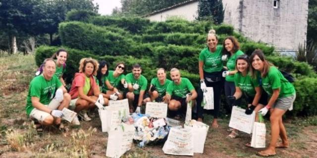 Voluntarios de DKV en el Camino de Santiago