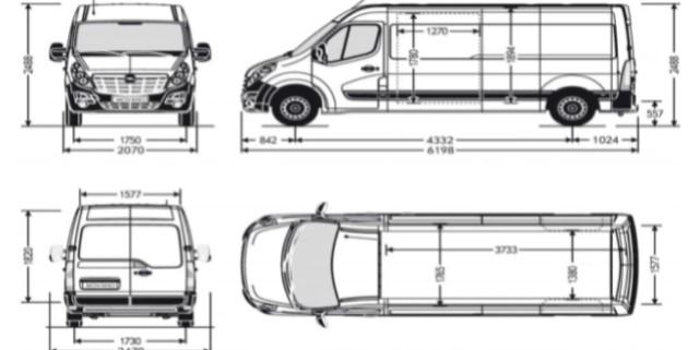 planos de vehículo vivienda