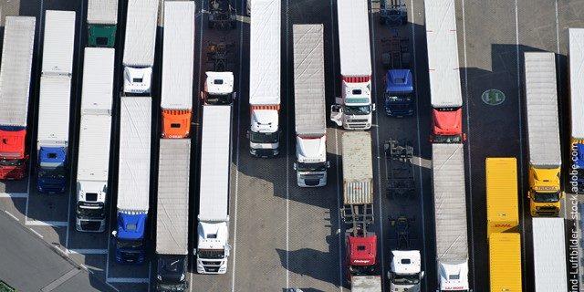 áreas seguras para camiones
