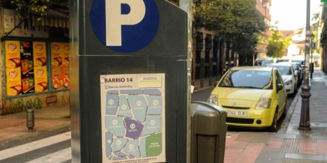 aparcamiento regulado en Madrid