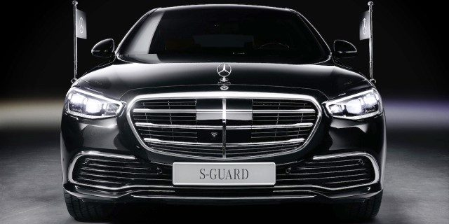 Mercedes S680 Guard 4Matic