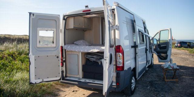 diseño de furgoneta vivienda