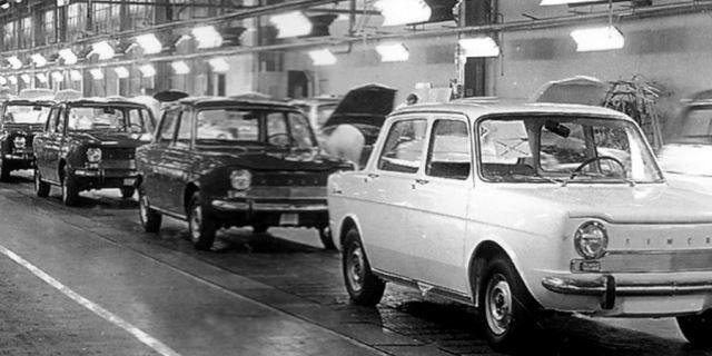 producción Simca 1000 en Barreiros
