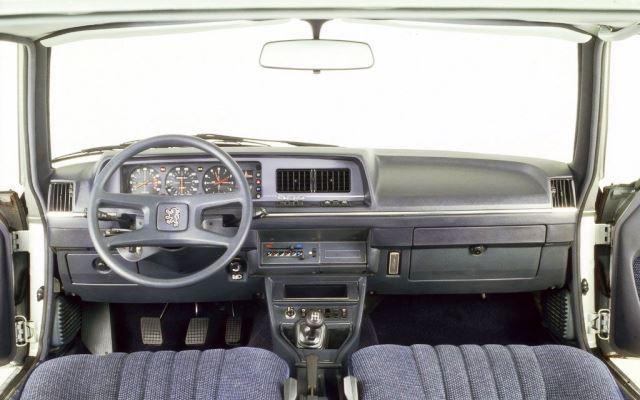 interior Peugeot 604