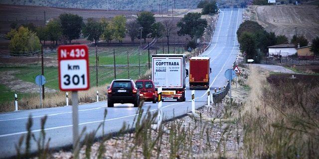 El MITMA decide aparcar el proyecto de autovía A-43 entre Puertollano y Mérida