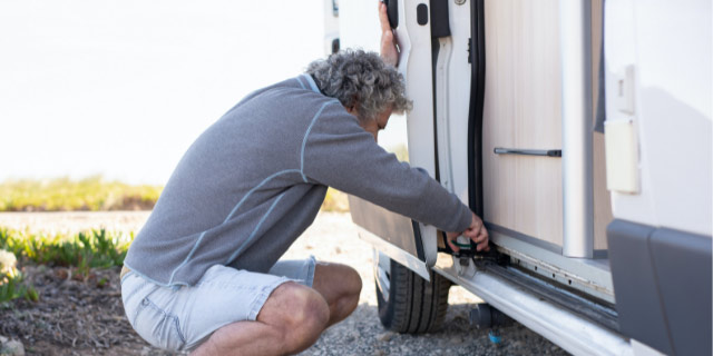 limpieza de furgoneta camper